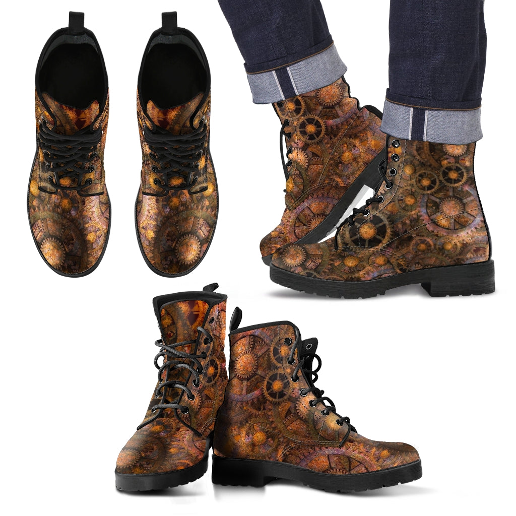 Steampunk Men's Boots
