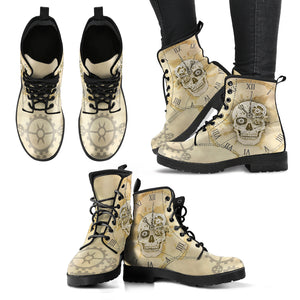 Steampunk/15 - Leather Boots Donna -