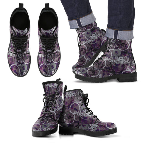 Steampunk/8 - Leather Boots Uomo -