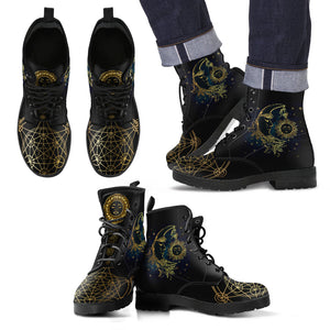 Sole e Luna - Leather Boots  Uomo -
