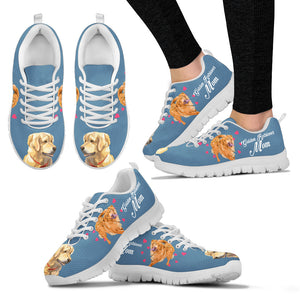 Golden Retriever - Azzurro Sneakers Donna -