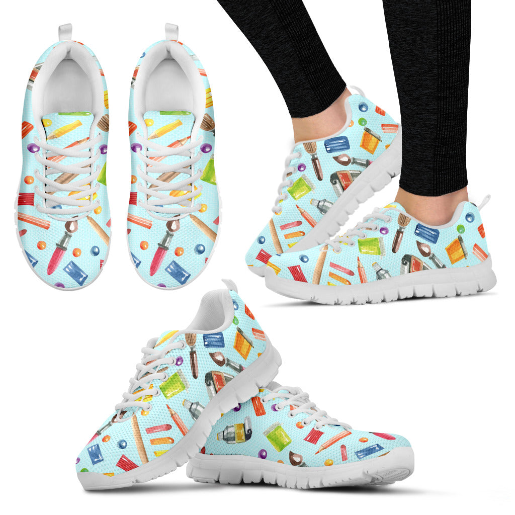 Painters Women's Sneakers Style 1 (White)