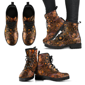 Steampunk/4  - Leather Boots Donna -