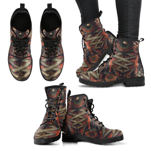 Steampunk/3 - Leather Boots  Donna -