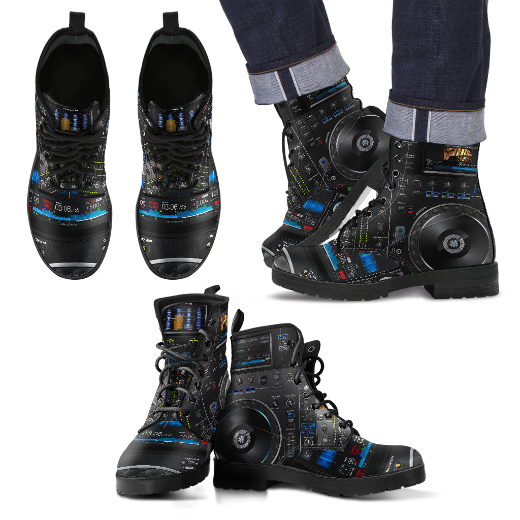 Dj Pioneer - Leather Boots Uomo -