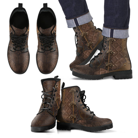 Steampunk/6 - Leather Boots Uomo -