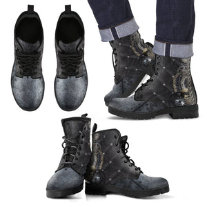Steampunk/5- Leather Boots Uomo -
