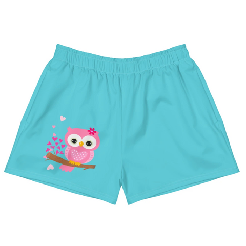 Gufo Colorato - Short Atletici Donna -