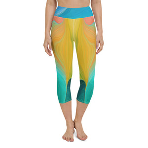 Alba - Yoga Capris Leggings -