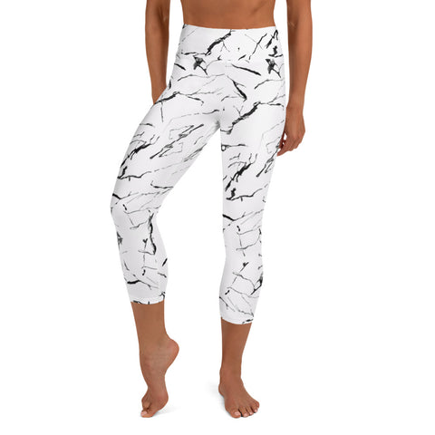 Marble - Leggings Yoga Capris -
