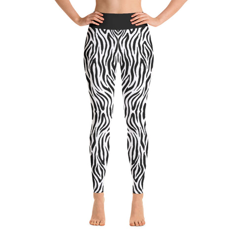 Zebra - Yoga Leggings -