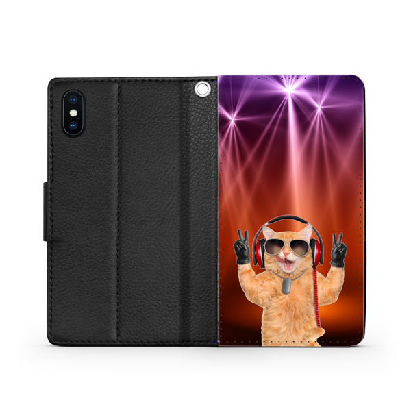 I Love Music - Custodia per Smartphone iPhone/Galaxy -