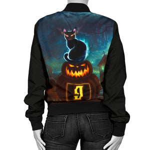 Halloween Women's Bomber Jacket