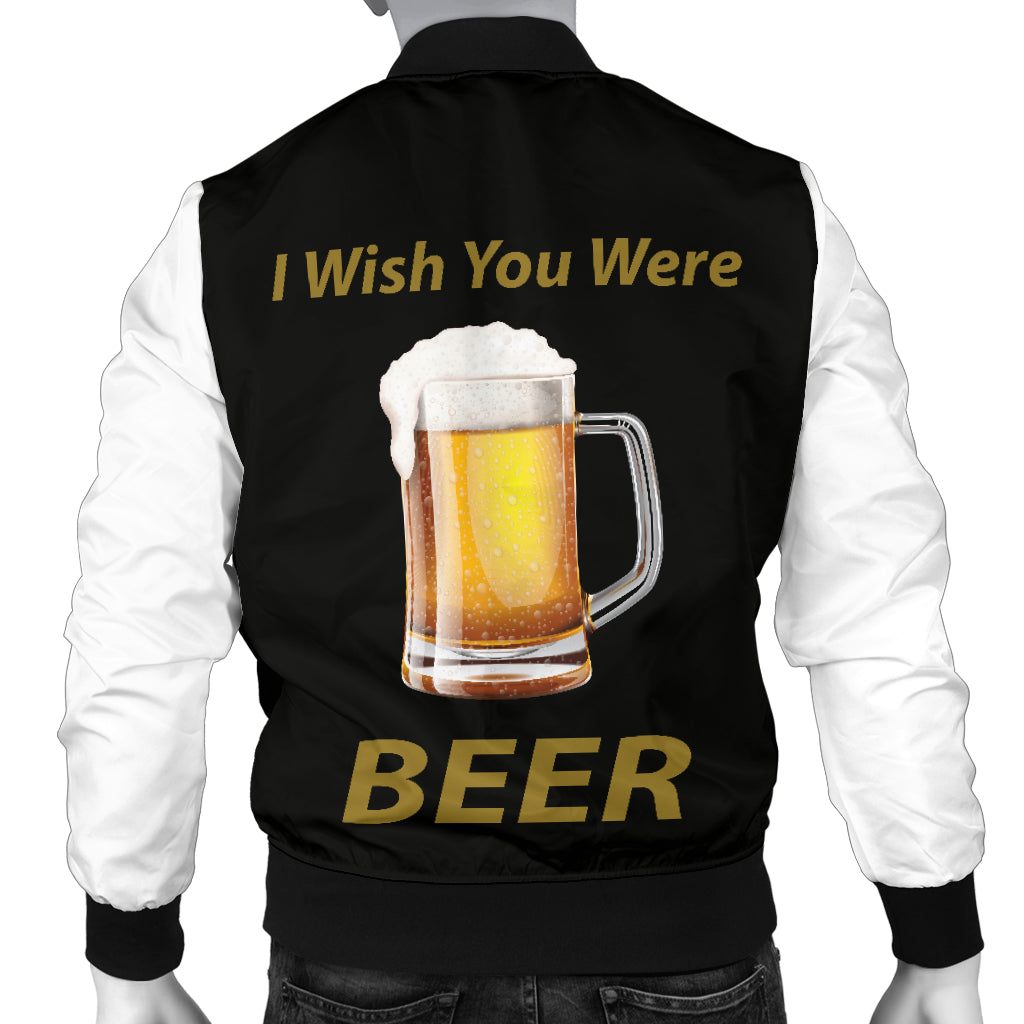 Wish You Were Beer - Bomber Uomo -