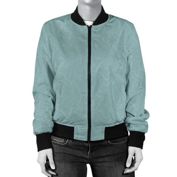 Women's Bomber Jacket Toptgraphic