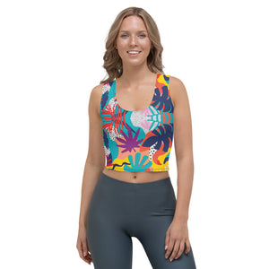 Jungle - Crop Top -