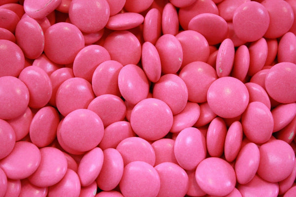 Bulk Candy - Pink Mint Chocolate Lentils