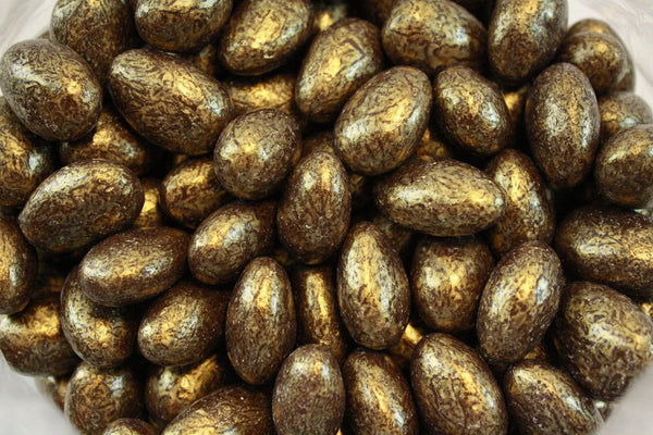 Bulk Candy - Gold Chocolate Almonds