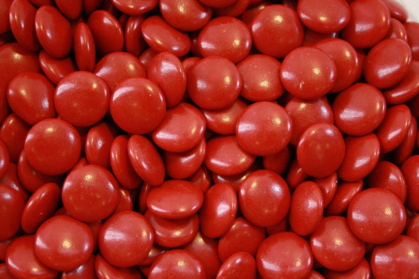 Bulk Candy - Red Mint Chocolate Lentils