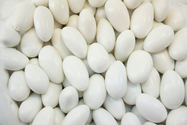 Bulk Candy - White Jordan Almonds