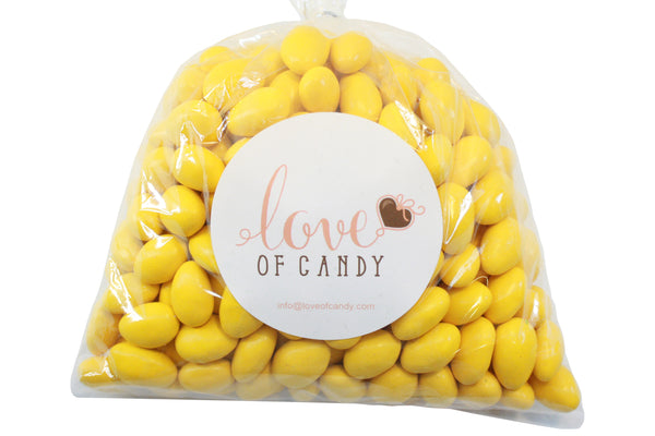 Bulk Candy - Yellow Chocolate Almonds