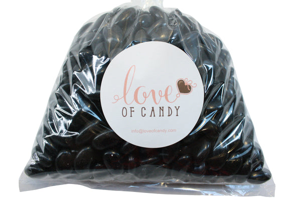 Bulk Candy - Black Jordan Almonds