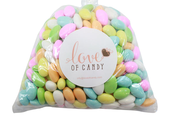 Bulk Candy - Assorted Jordan Almonds
