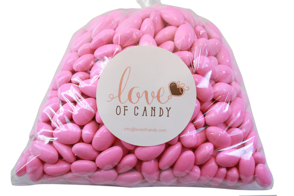 Bulk Candy - Pink Jordan Almonds