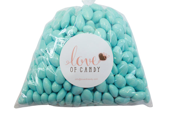 Bulk Candy - Light Blue Jordan Almonds