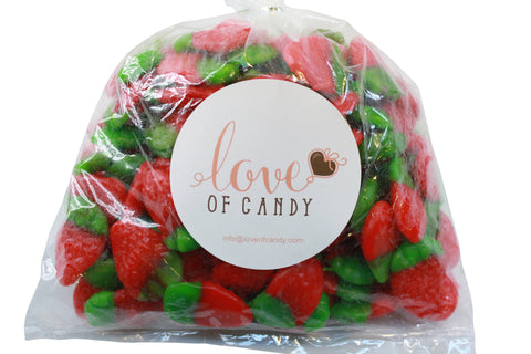 Bulk Candy - Gummy Strawberries