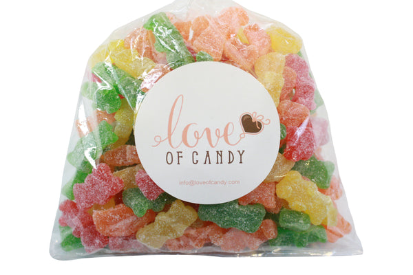Bulk Candy - Large Sour Gummy Bears