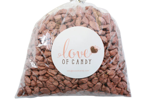 Bulk Candy - Chocolate Rock Candy - Brown