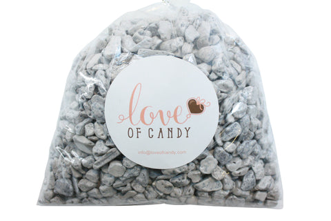 Bulk Candy - Chocolate Rock Candy - Gray