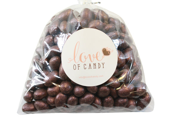 Bulk Candy - Jewel Pink Chocolate Almonds
