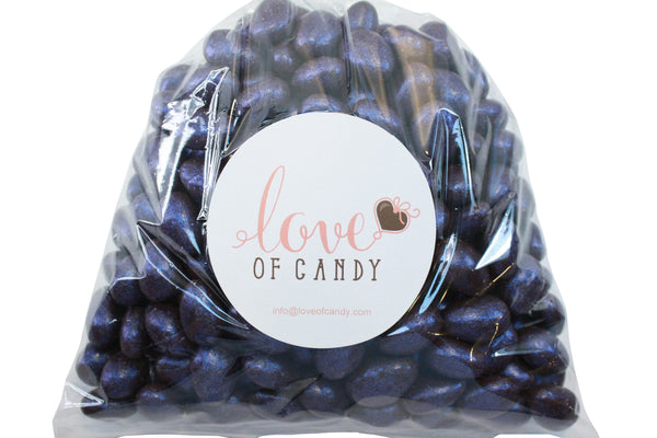 Bulk Candy - Jewel Blue Chocolate Almonds