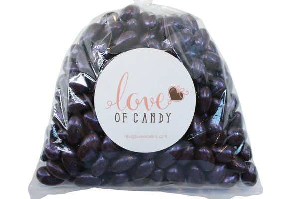 Bulk Candy - Jewel Purple Chocolate Almonds