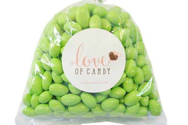 Bulk Candy - Green Chocolate Almonds