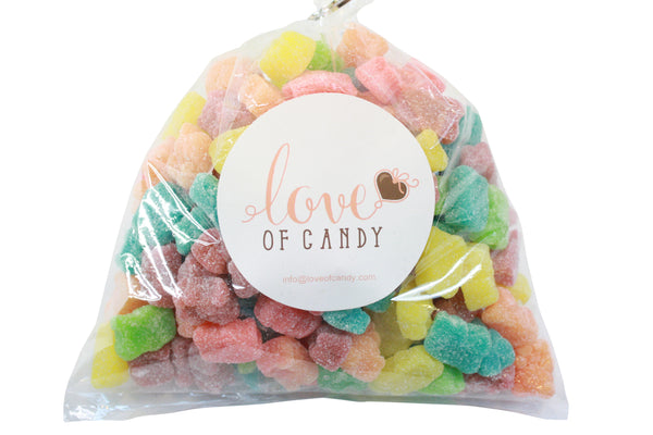 Bulk Candy - Sour Neon Gummy Bears