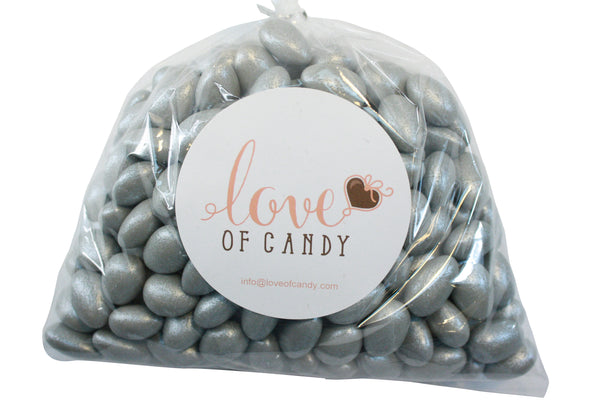 Bulk Candy - Gray Jordan Almonds