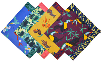 Cubist Tropical Napkin - Thorsun