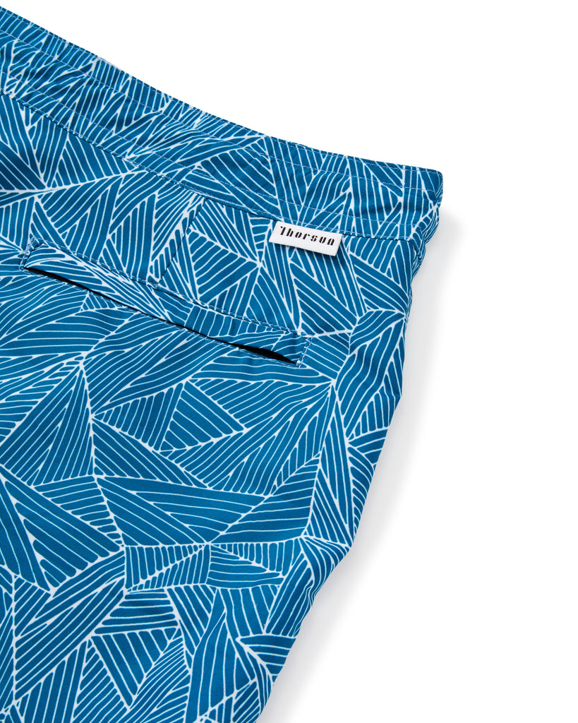Athena Weave Shorts in Aqua - Thorsun