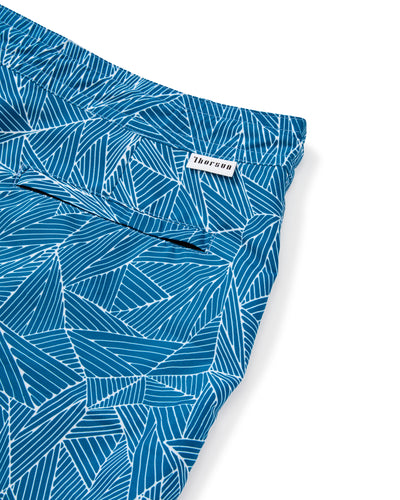 Athena Weave Shorts in Aqua-Womens Swim-Thorsun