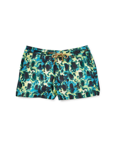 Athena Tortoise Swim Shorts in Green - Thorsun
