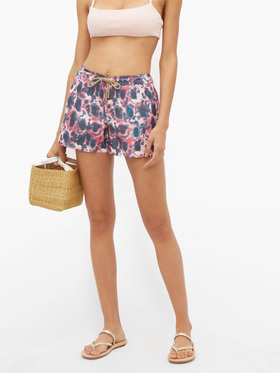 Athena Tortoise Swim Shorts in Multi-color-Womens Swim-Thorsun