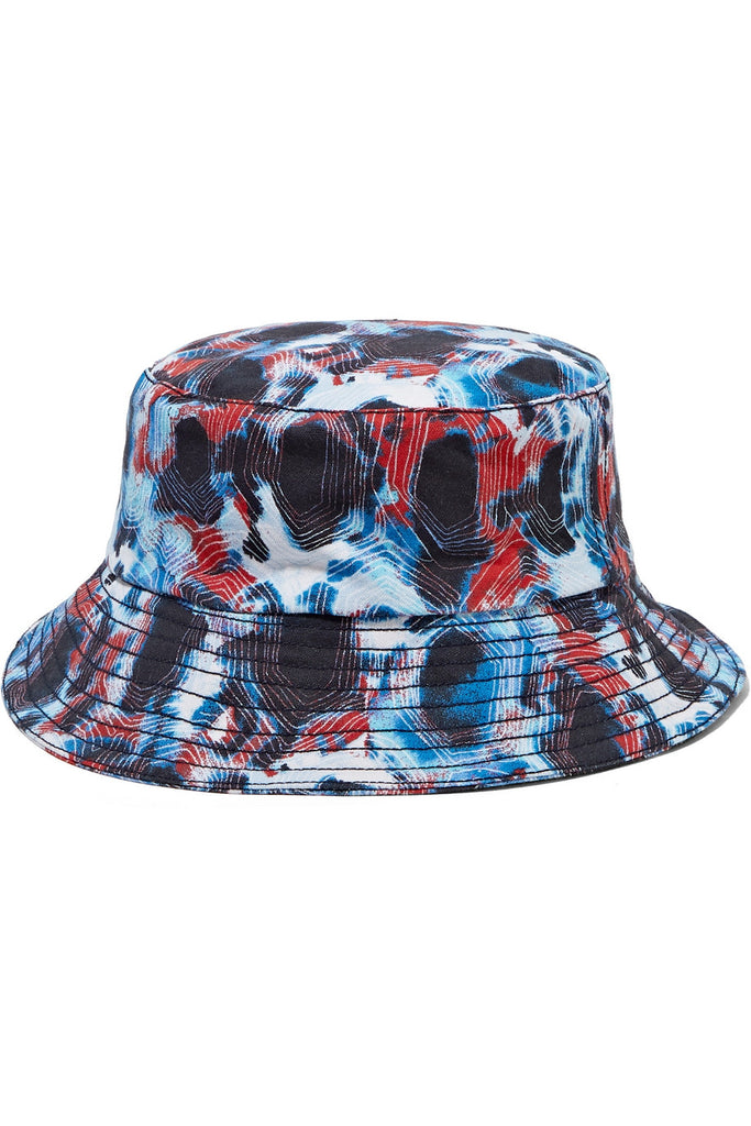 Tortoise printed cotton-canvas bucket hat - Thorsun
