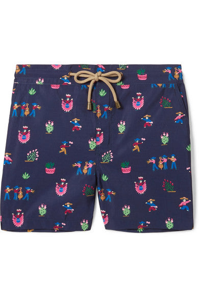 Zeus fiesta printed swim shorts - Thorsun