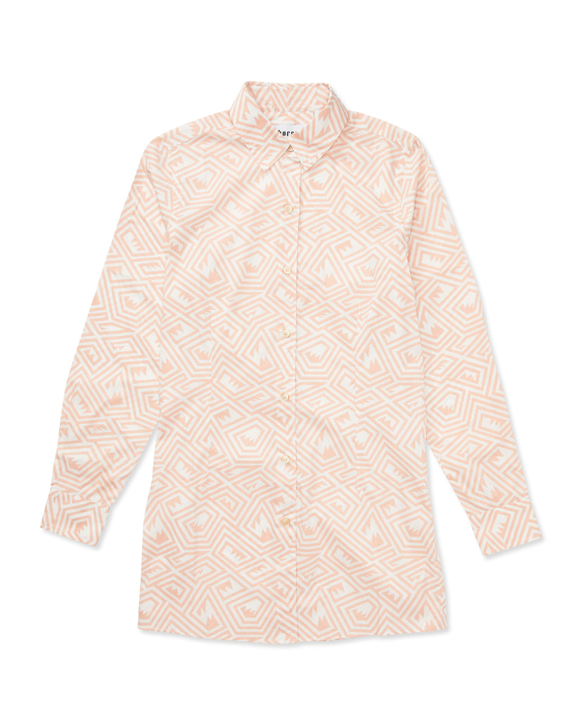 Georgie Maze Cotton Poplin Shirt - Thorsun