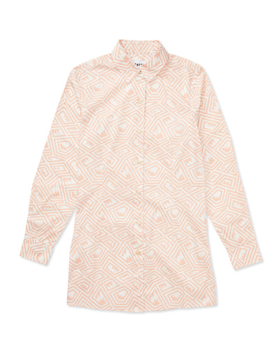 Georgie Maze Cotton-Poplin Shirt - Thorsun