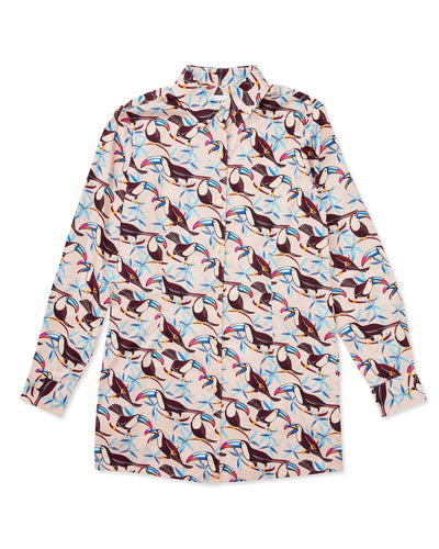 Georgie Toucan Cotton-Poplin Shirt - Thorsun