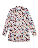 Georgie Toucan Cotton Poplin Shirt